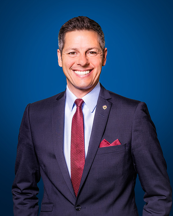 Mayor Brian Bowman Official Portrait January 2020