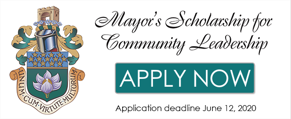 Mayor's Scholarship for Communitu Leadership
