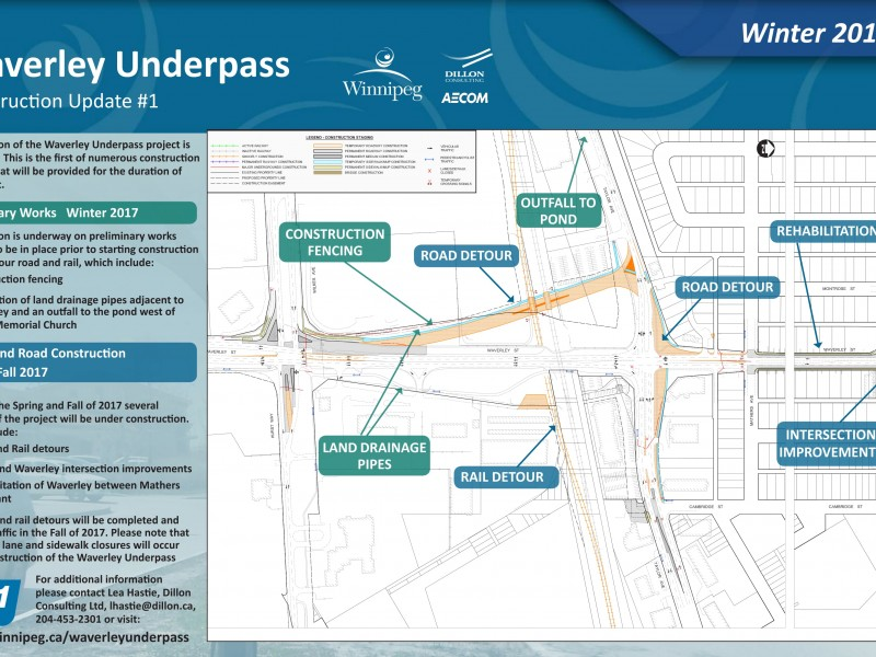 Waverley Underpass construction remains on track | News